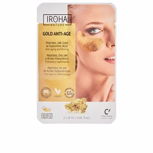 Contorno de ojos GOLD tissue eyes patches extra firmness Iroha