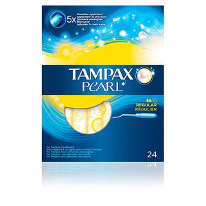 Tampons hygiéniques TAMPAX PEARL regular tampon Tampax