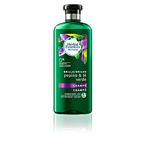 Shampoo for shiny hair BIO BRILLO champú detox 0% Herbal Essences