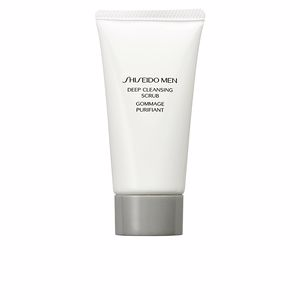 Exfoliante facial MEN deep cleansing scrub Shiseido