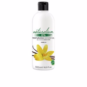 Shower gel VAINILLA moisturizing shower gel Naturalium