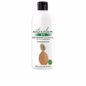 Shower gel ALMOND & PISTACHIO moisturizing shower gel Naturalium