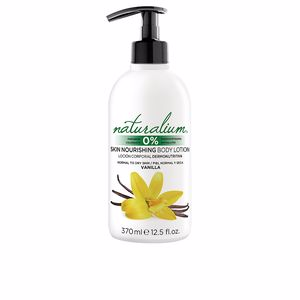 Body moisturiser VANILLA skin nourishing body lotion Naturalium