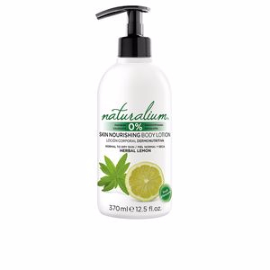 Hidratação corporal HERBAL LEMON skin nourishing body lotion Naturalium