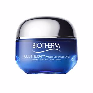 Anti aging cream & anti wrinkle treatment - Antioxidant treatment cream BLUE THERAPY multi-defender SPF25 Biotherm