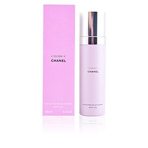 Body moisturiser CHANCE huile pour le corps Chanel