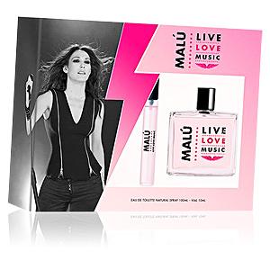 Singers MALÚ LIVE LOVE MUSIC SET perfume