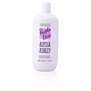 Shower gel PURPLE ELIXIR bubbling bath & shower gel Alyssa Ashley