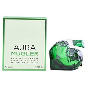 AURA eau de parfum spray refillable 50 ml