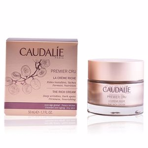 Anti aging cream & anti wrinkle treatment PREMIER CRU la crème riche Caudalie