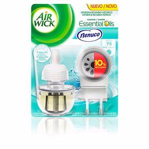 AIR-WICK ambientador electrico completo #nenuco 19 ml