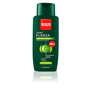 Champú antirrotura - Champú purificante FRECUENCIA FUERZA REVITALIZANTE cabello normal Kerzo