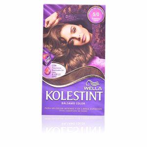Haarfarbe KOLESTINT tinte bálsamo color #5,0 castaño claro Wella Kolestint
