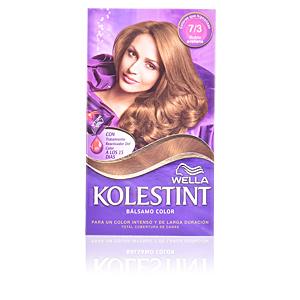 Haarfarbe KOLESTINT tinte bálsamo color #7,3 rubio avellana Wella Kolestint
