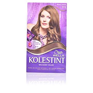 Haarfarbe KOLESTINT tinte bálsamo color #7,1 rubio ceniza Wella Kolestint