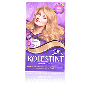 Couleurs KOLESTINT tinte bálsamo color #8,0 rubio claro Wella Kolestint