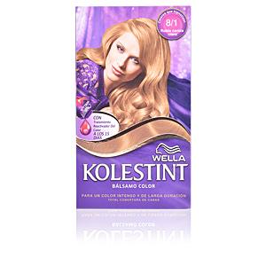 Couleurs KOLESTINT tinte bálsamo color #8,1 rubio ceniza claro Wella Kolestint