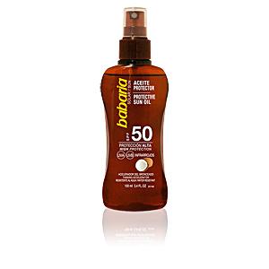 Corps SOLAR ACEITE PROTECTOR COCO SPF50 spray Babaria