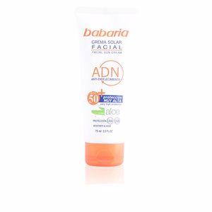 Facial SOLAR ADN crema facial aloe vera SPF50 Babaria