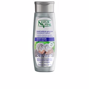 Hair mask MASCARILLA SILVER white or gray hair Naturvital