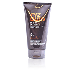 Body TAN&  PROTECT intensifyier sun lotion SPF6 Piz Buin