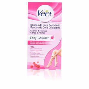 Hair removal wax BANDAS DE CERA depilatorias corporales Veet
