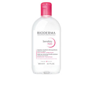 Bioderma, SENSIBIO H2O solution micellaire peaux sensibles 500 ml