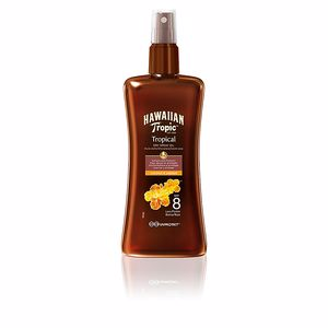 Lichaam COCONUT & PAPAYA dry oil SPF8 spray Hawaiian Tropic