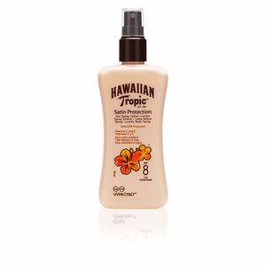 Body SATIN PROTECTION sun lotion SPF8 spray Hawaiian Tropic