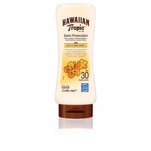 Lichaam SATIN PROTECTION ultra radiance sun lotion SPF30 Hawaiian Tropic