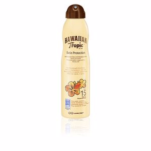 Lichaam SATIN PROTECTION SPF15 spray Hawaiian Tropic