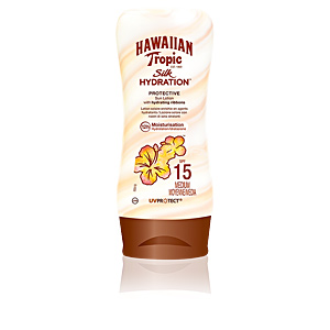 Lichaam SILK HYDRATION sun lotion SPF15 Hawaiian Tropic