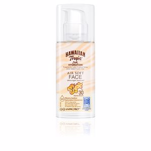 Faciais SILK HYDRATION AIR SOFT FACE lotion SPF30 Hawaiian Tropic