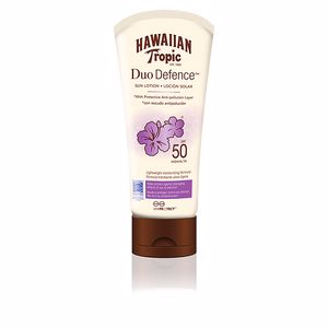 Faciales DUO DEFENCE sun lotion SPF50+ Hawaiian Tropic