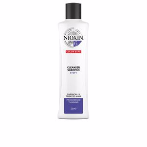 Shampooing volume SYSTEM 6 CLEANSER SHAMPOO step 1 chemically treated hair Nioxin