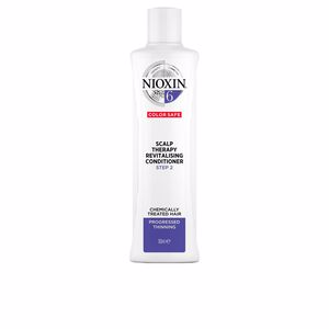 Hair repair conditioner SYSTEM 6 SCALP THERAPY revitalising conditioner step 2 chemically treated hair Nioxin