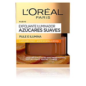 Face scrub - exfoliator AZÚCARES SUAVES exfoliante iluminador L'Oréal París
