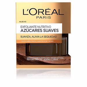 Face scrub - exfoliator AZÚCARES SUAVES exfoliante nutritivo L'Oréal París