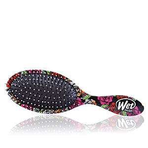 Cepillo para el pelo ORIGINAL DETANGLER SUGAR SKULL oval #red bifull The Wet Brush