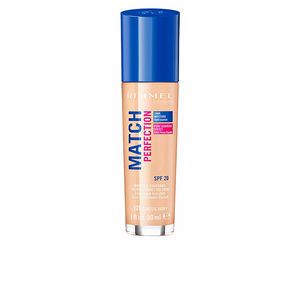 Base de maquillaje MATCH PERFECTION foundation Rimmel London