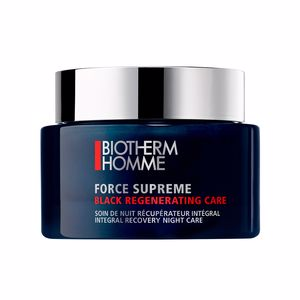 Anti aging cream & anti wrinkle treatment FORCE SUPREME black regenerating care Biotherm