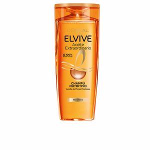 Hair loss shampoo ELVIVE aceite extraordinario champú cabello seco L'Oréal París