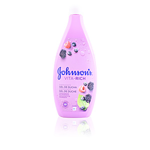 Shower gel VITA-RICH ENERGIZANTE gel de ducha frambuesa Johnson's