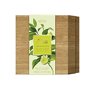ACQUA COLONIA LIME & NUTMEG set 2 pz