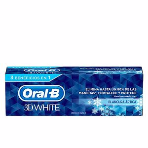 Toothpaste 3D WHITE BLANCURA ARTICA pasta dentífrica Oral-B