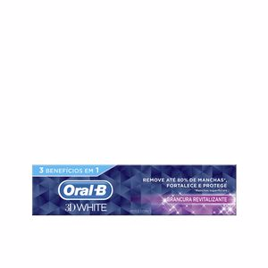 Toothpaste 3D WHITE blancura revitalizante pasta dentífric Oral-B