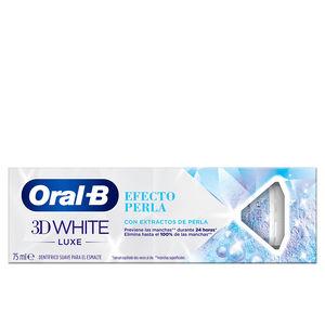 Toothpaste 3D WHITE LUXE pasta dentífrica efecto perla Oral-B