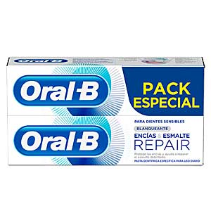 Bath Gift Sets ENCIAS & ESMALTE REPAIR BLANQUEANTE DENTIFRICO SET Oral-B