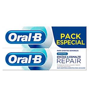 Oral-b, ENCIAS & ESMALTE REPAIR ORIGINAL DENTIFRICO lote