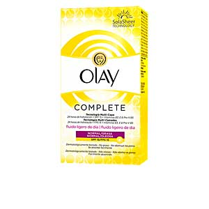 Face moisturizer COMPLETE fluido ligero de día SPF15 piel normal/grasa Olay